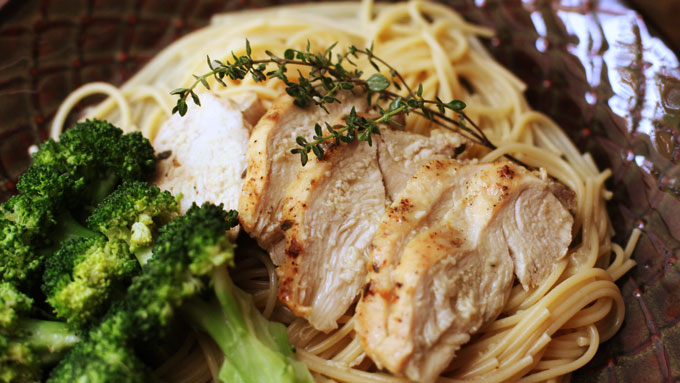 lemon-thyme-chicken-pasta