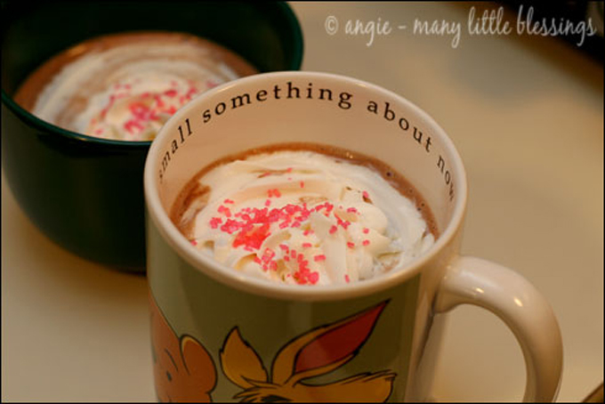 Nutella Hot Chocolate by Many Little Blessings