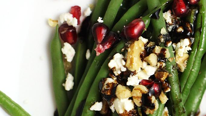 pomegranite-balsmic-feta-beans