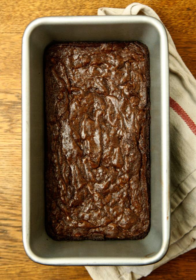 Small Batch Double Chocolate Walnut Brownies