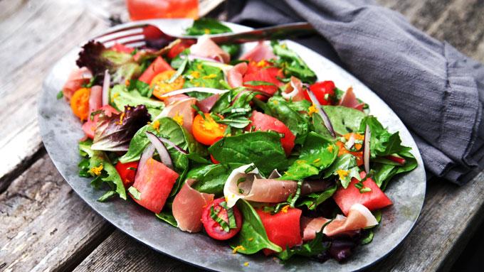 tomato-watermelon-salad