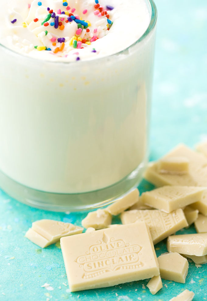 White Hot Chocolate by Love and Olive Oil