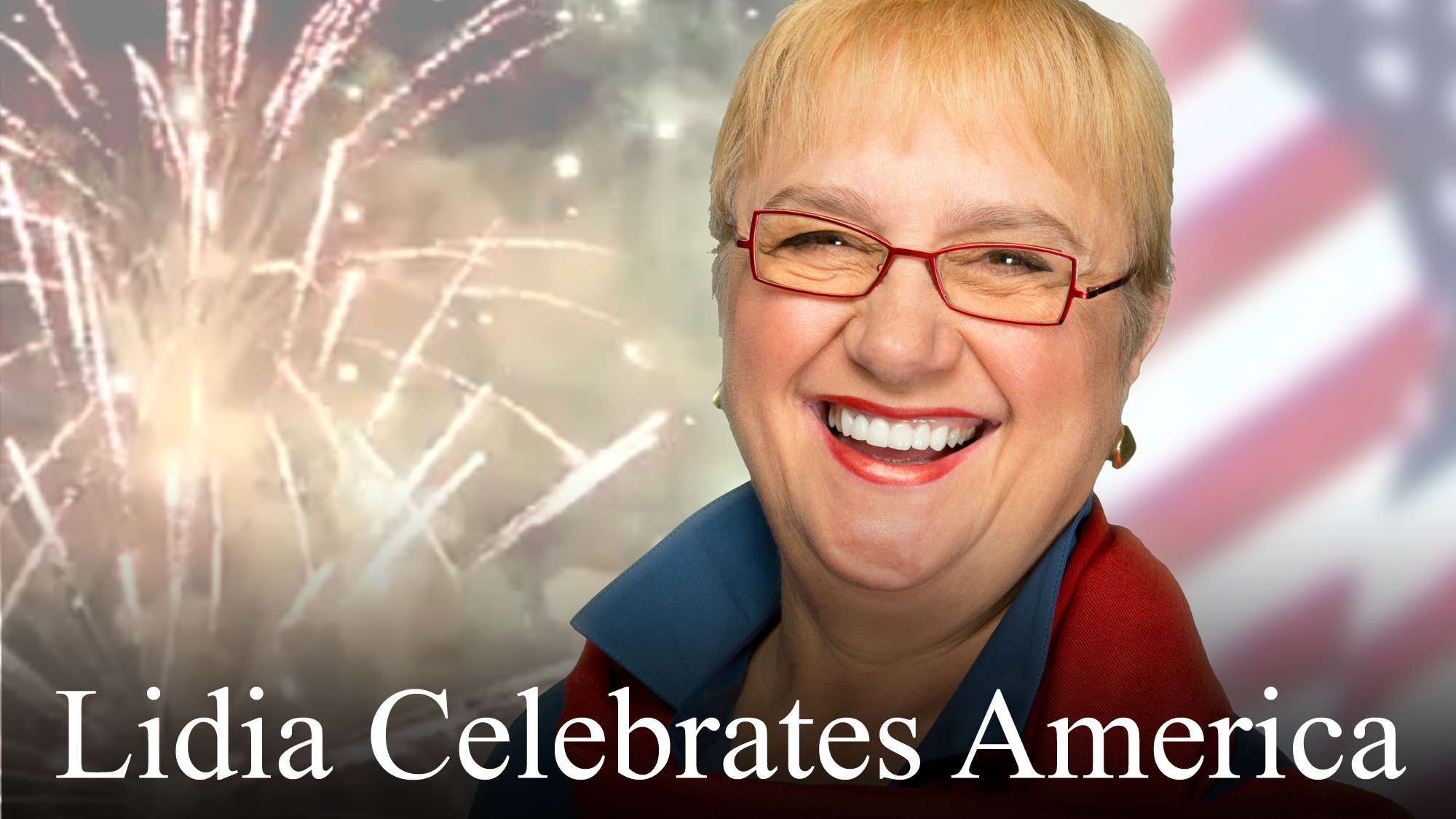 Lidia Celebrates America Lidia Bastianich continues her engaging cross-country journey of the United States to experience the exuberance of American culture.