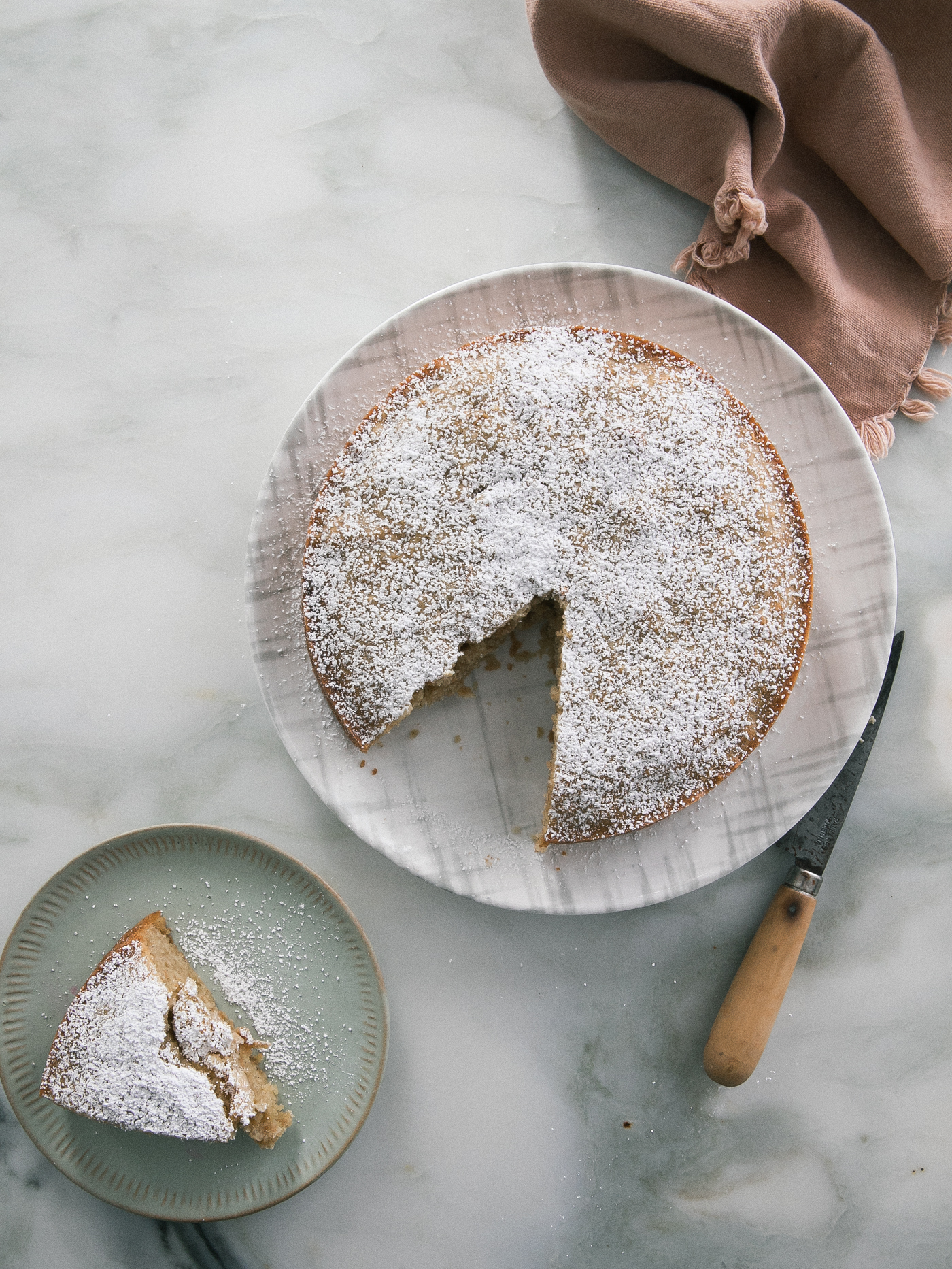 Autumn Apple Olive Oil Cake Great for Snacking | Fresh Tastes Blog | PBS Food