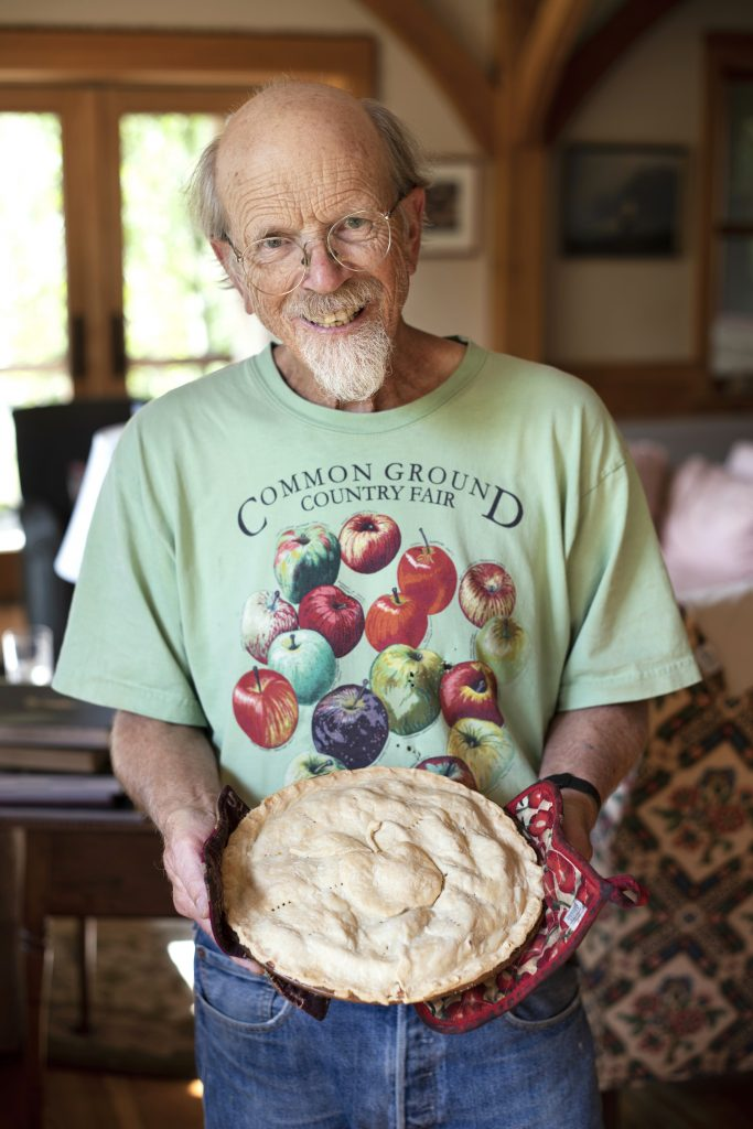 John Bunker and his apple pie