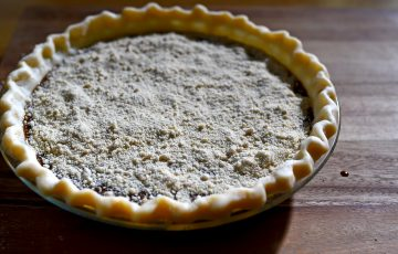 Shoofly pie, a Pennsylvania Dutch dessert