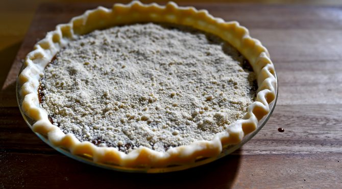 Shoofly pie, a Pennsylvania Dutch dessert