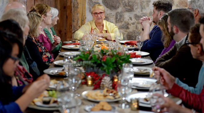 """""""When we're all at the table, when we are sharing at the table...we really are united. The table and eating together is the ultimate equalizer."""" ~ Lidia Bastianich"""