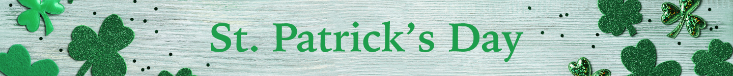 "Celebrate St. Patrick's Day with ""Lucky"" Recipes custom banner"