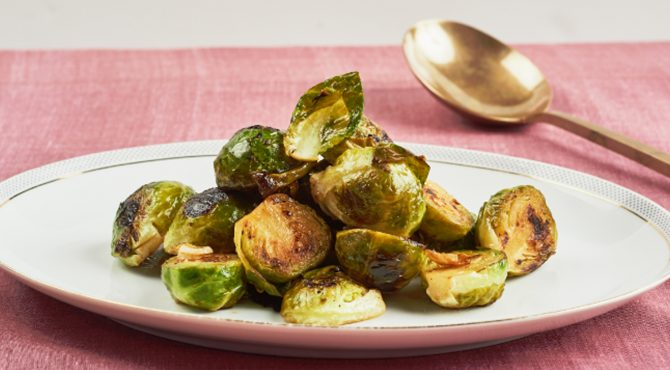 Brussels Sprouts with Braised Vinegar