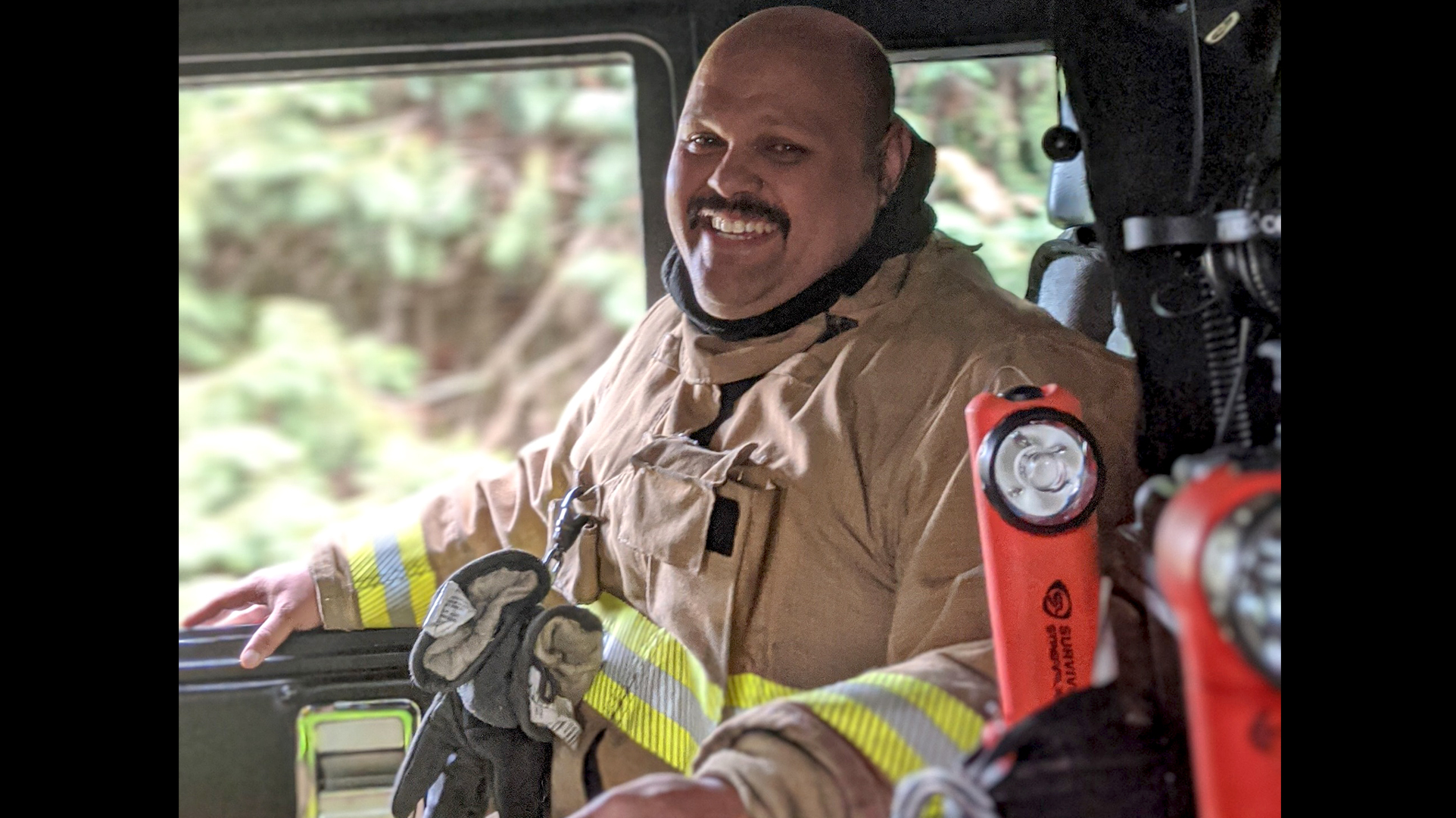California Firefighter, Jacob Mual