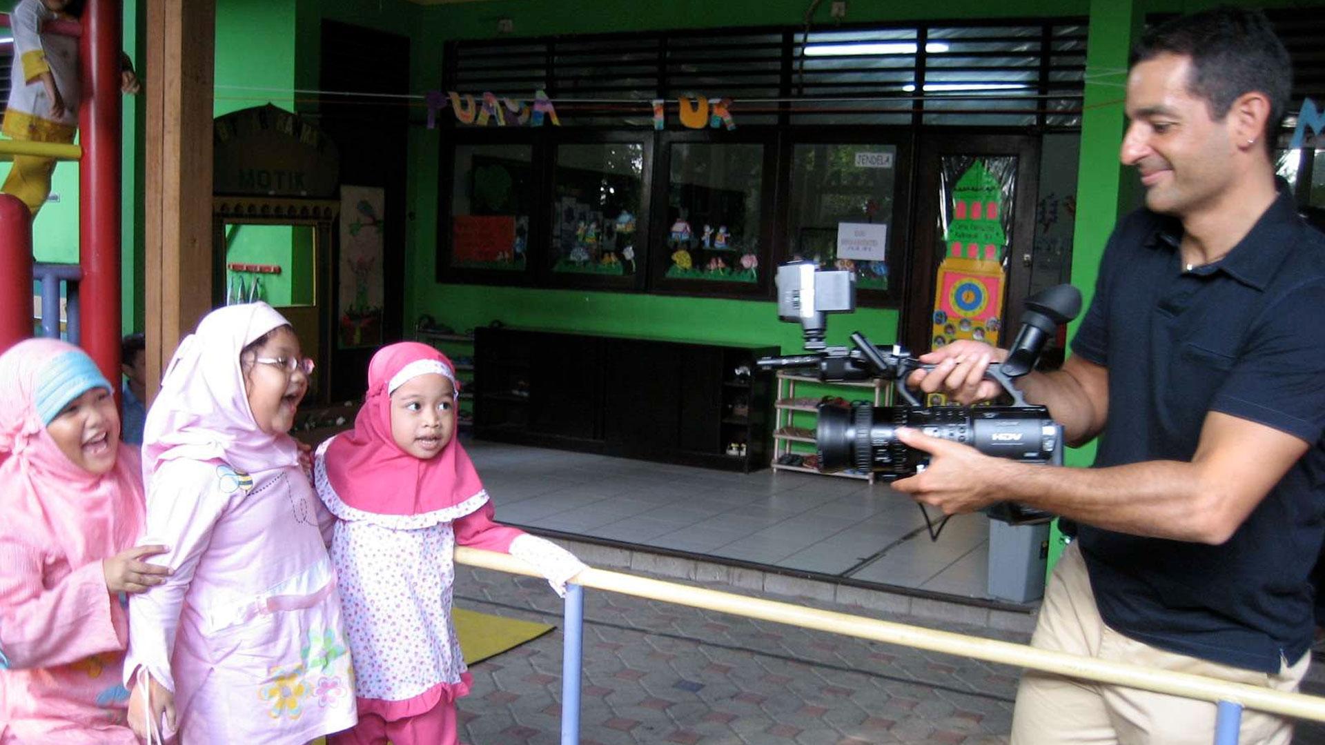 Wham Bam Islam! filmmaker Isaac Solotaroff