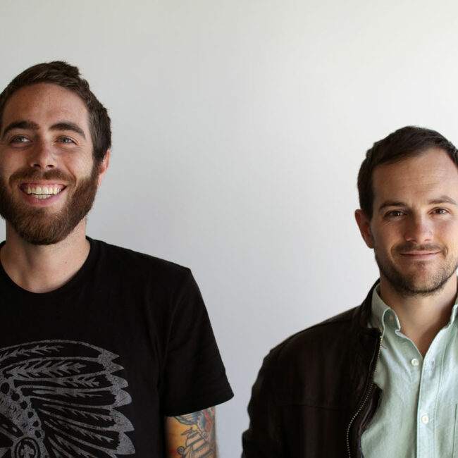 Headshot of Blood Brother filmmakers Steve Hoover and Danny Yourd