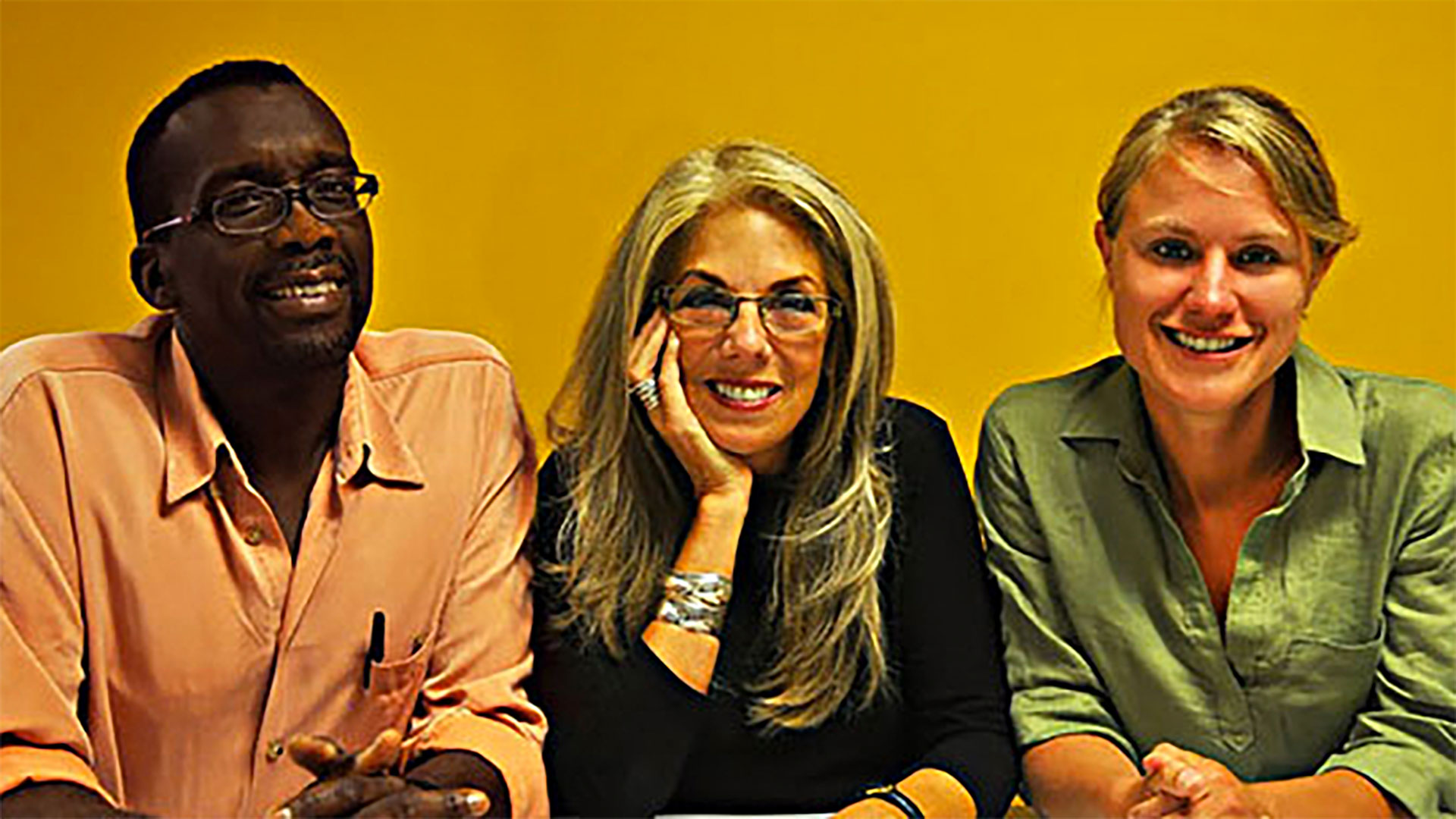 American Denial filmmakers Llewellyn Smith, Christine Herbes-Sommers, and Kelly Thomson.