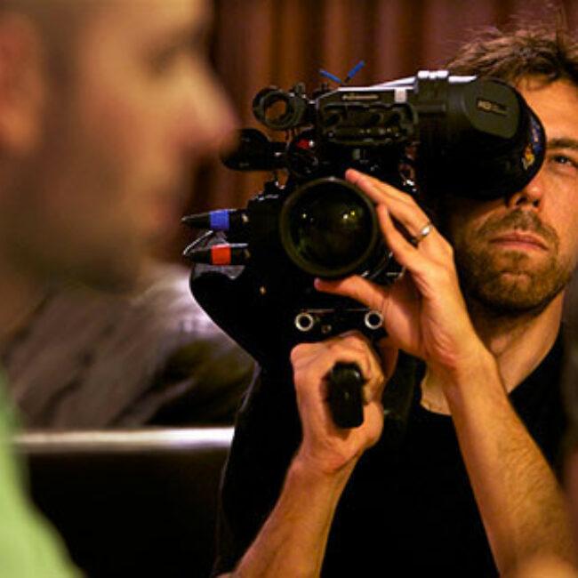Filmmaker Dan Krauss films the Winfield family during hearing