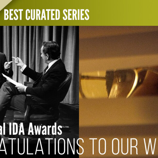 Independent Lens IDA Awards 2016 for Best Curated Series, plus (T)ERROR and Best of Enemies
