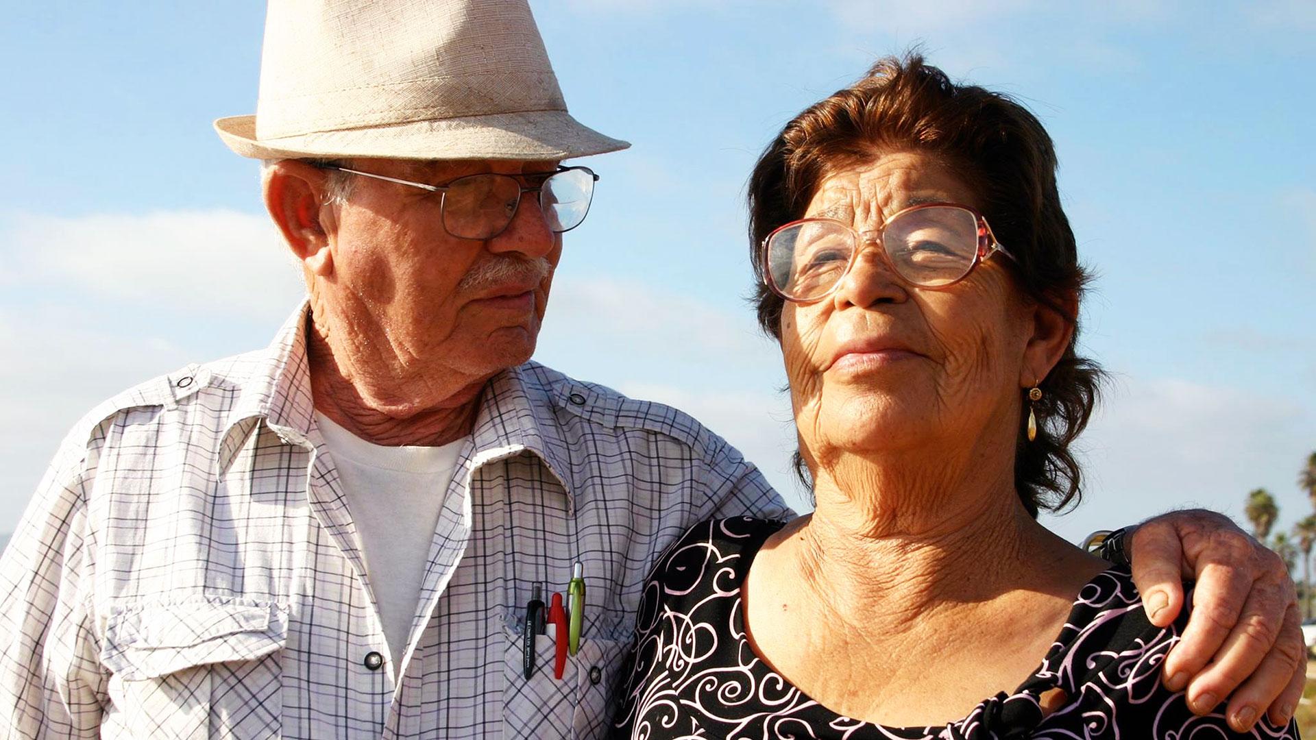 Plaintiff Maria Hurtado and her husband, Salvador