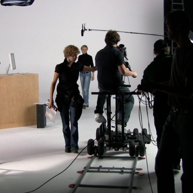 production of the first Wikipedia video tutorials (Hamburg, Germany)