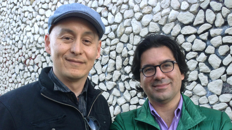 Dogtown Redemption Filmmakers Chihiro Wimbush and Amir Soltani (l-r)