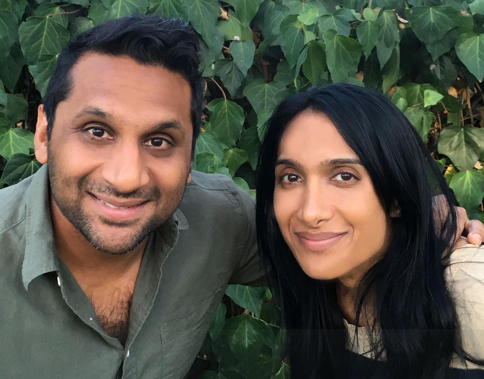 Filmmaker siblings Ravi and Geeta Patel of Meet the Patels