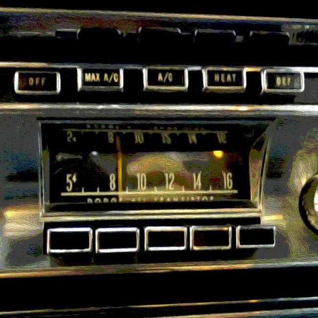 1966 Dodge Monaco Dashboard and Radio