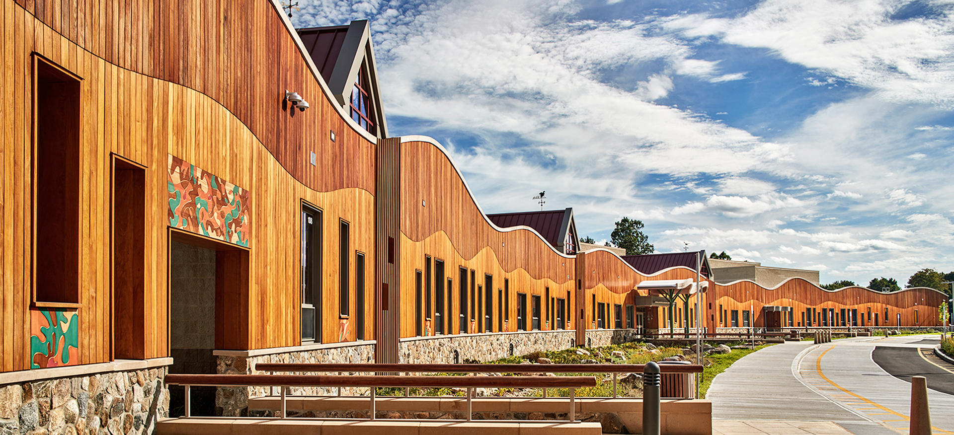 The new Sandy Hook school (Robert Benson Photography, courtesy Svigals + Partners)