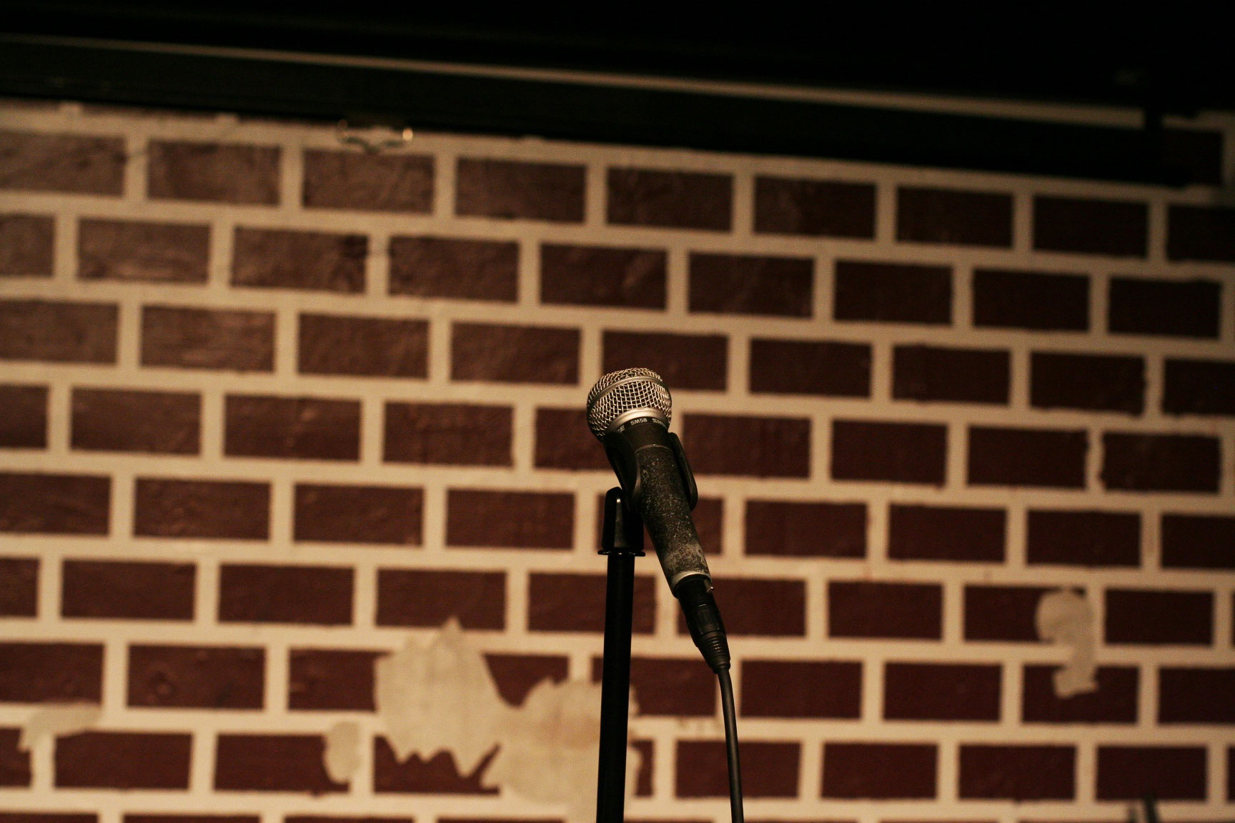 Bricks and a Mic at a comedy club (From