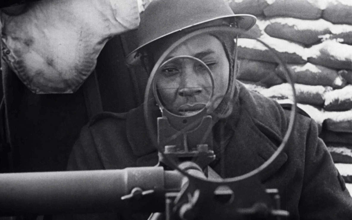 From The Negro Soldier, 1944. USA. Directed by Stuart Heisler