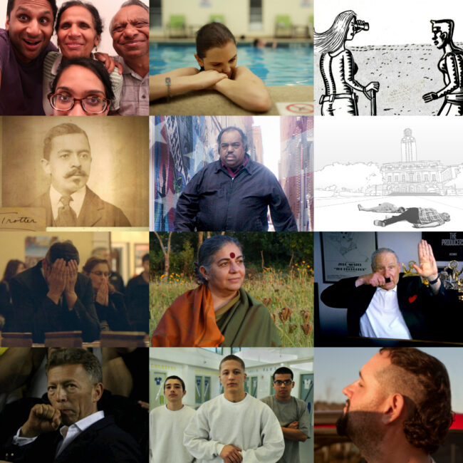 Montage of images from each of 20 films from Independent Lens 2016-17 season