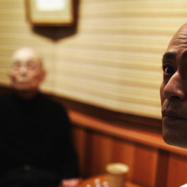 Jiro and son Takashi, in Jiro Dreams of Sushi