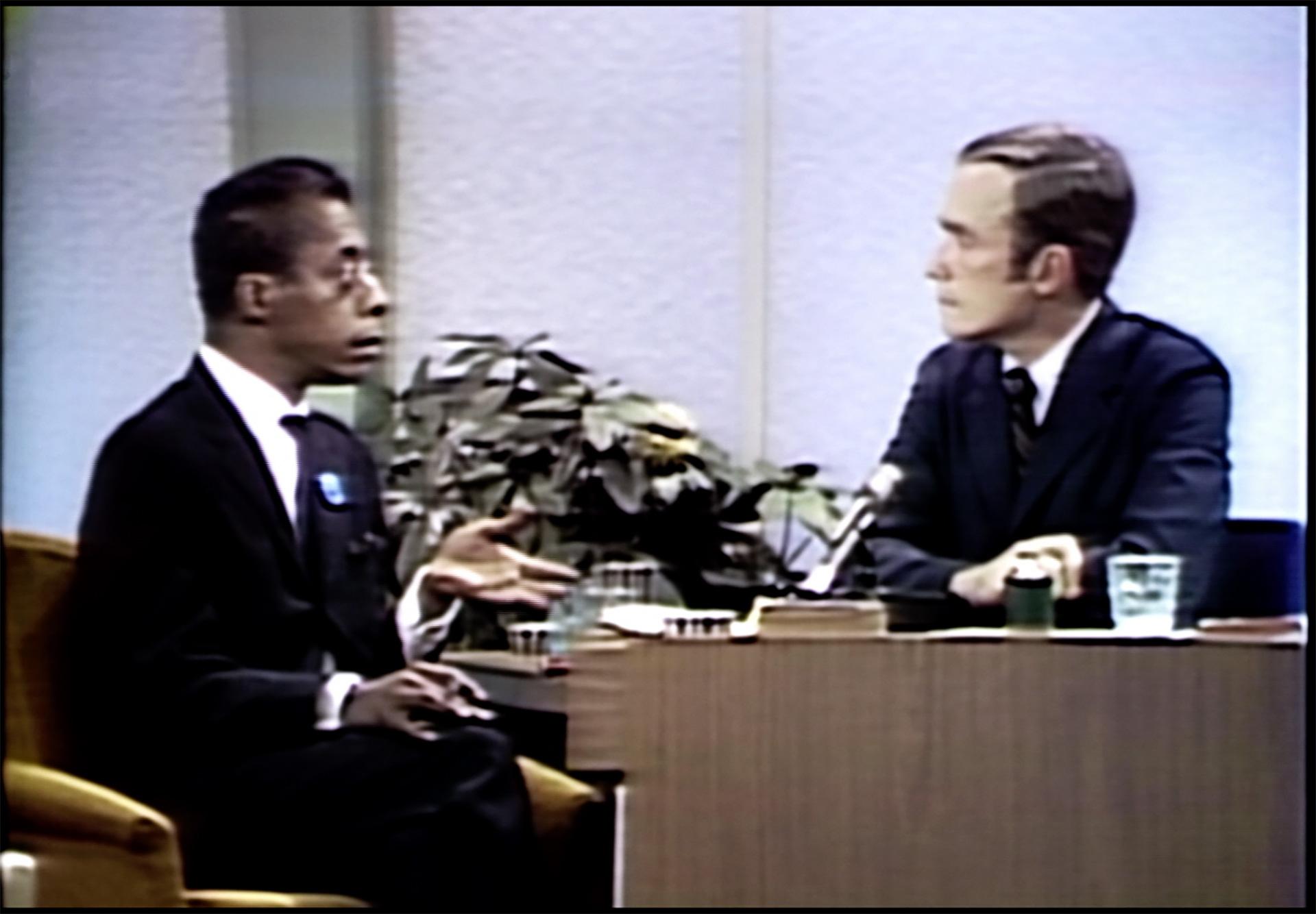 James Baldwin on the Dick Cavett Show