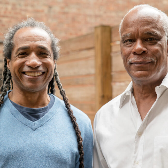 Tell Them We Are Rising filmmakers Marco Williams and Stanley Nelson (l-r)