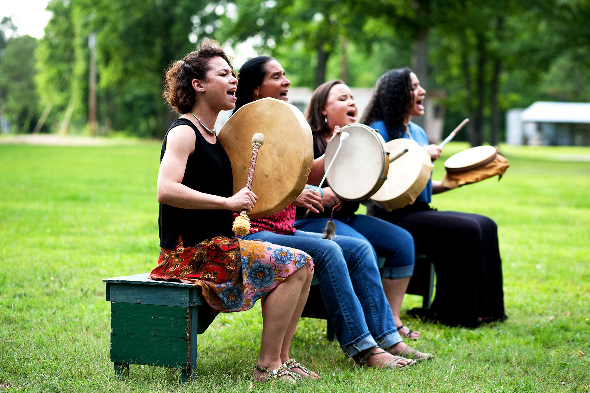Ulali (Charly Lowry, Pura Fe, Layla Locklear, Jennifer Kreisberg) Photo by David MacLeod