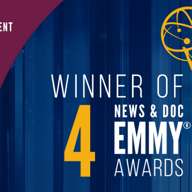 Indie Lens Wins 4 News & Doc Emmys graphic