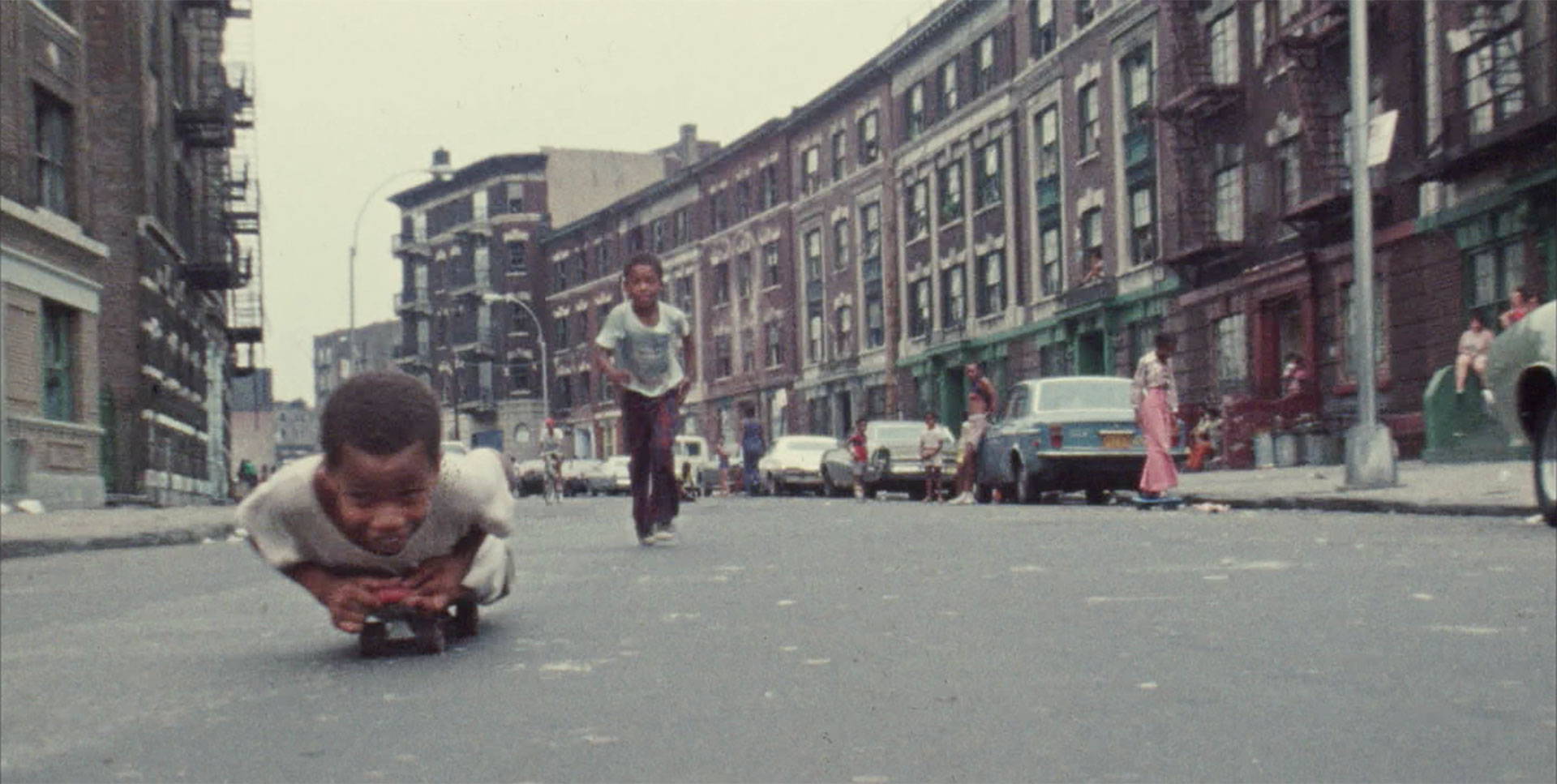 Decade of Fire, kids skating in the Bronx 1970s