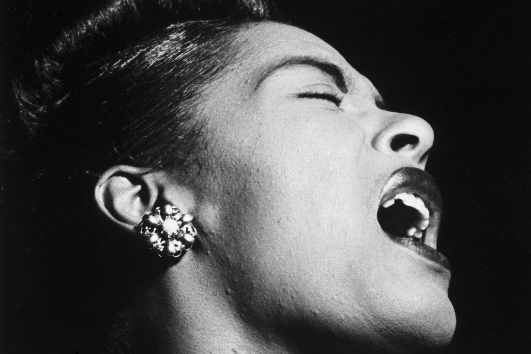 Singer Billie Holiday