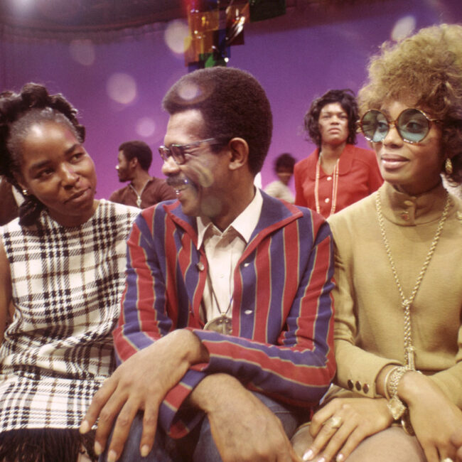 Ellis Haizlip and guests, on his show SOUL! in Mr. SOUL!