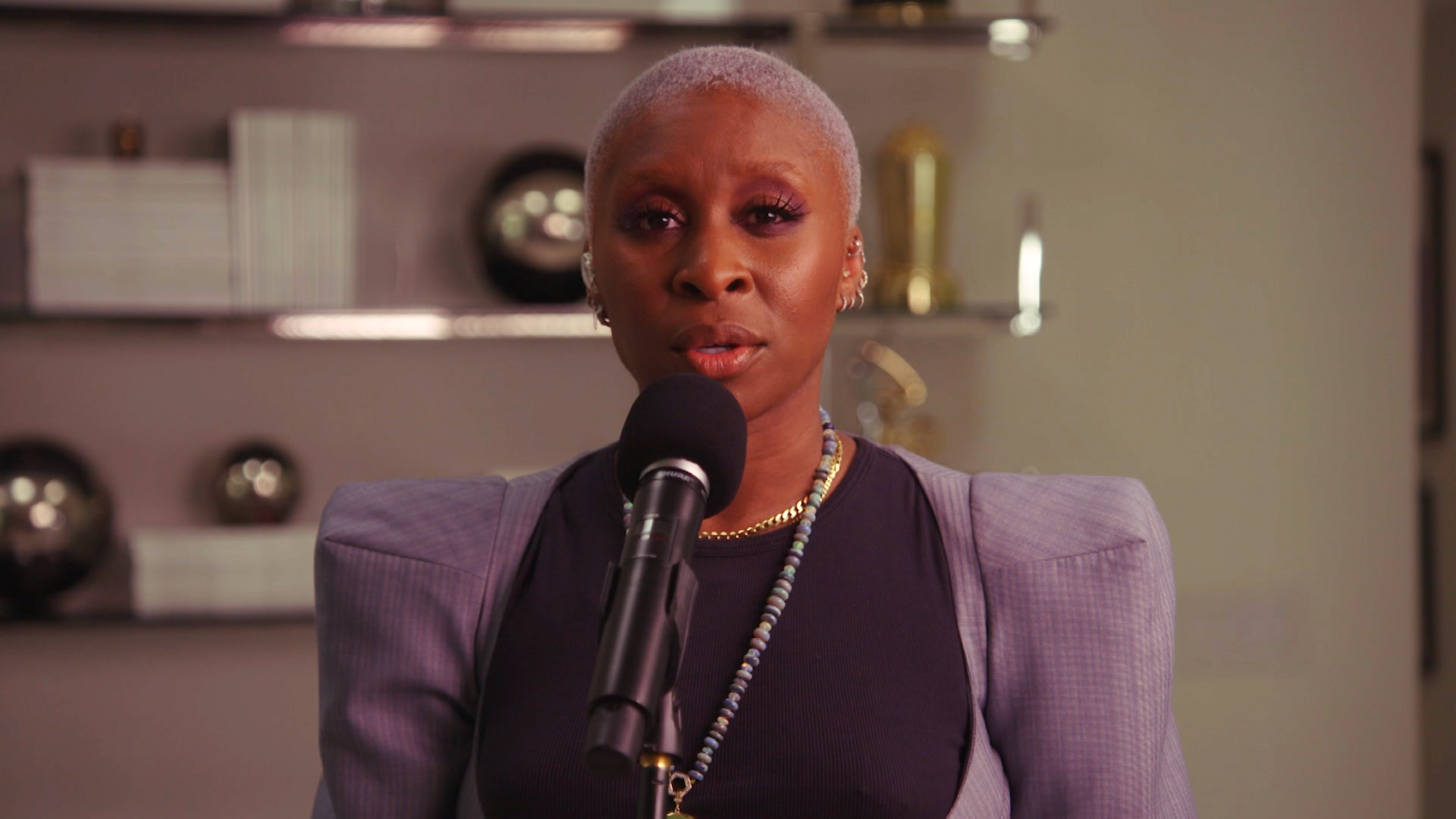 Cynthia Erivo Performs