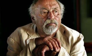 JIM HARRISON.06.25.2007. Author Jim Harrison, photographed at the Hyatt, Monday, June 25, 2007. Harrison's new novel is called 'Returning to Earth'. [FOR FEATURE STORY BY VIT WAGNER](Aaron Lynett/Toronto Star) (Photo by Aaron Lynett/Toronto Star via Getty Images)