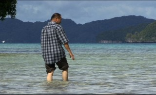 Uighur man in Palau
