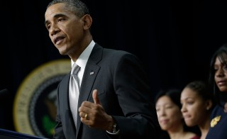 President Obama Makes Statement On Affordable Care Act