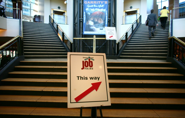 The general rule of thumb is to find a new job before quitting your current job. But you shouldn't always stick to that. Photo courtesy of Matthew Staver/Bloomberg via Getty Images.