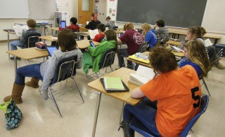 6th Grade Classroom, Wellsville, New York