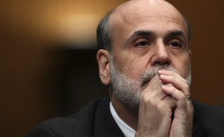 As Fed Chairman Ben Bernanke closes out his term, how will he be remembered? Dean Baker sees a checkered legacy. Getty Images file photo.