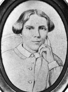 A sketch of Dr. Elizabeth Blackwell, the first woman doctor in the United States. Photo by Hulton Archive/Getty Images