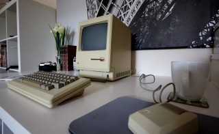 The original Macintosh computer. Photo by Flickr user Matthew Pearce