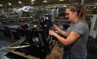 Manufacturing excellence is one of four economic forces that sets the U.S. economy apart from the rest of the world. NewsHour still photo