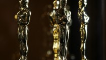 Oscar statuettes are displayed at the 'Meet The Oscars' exhibit before the 80th annual Academy Awards in Hollywood, California, on February 21, 2008. The Oscars will be presented February 24, 2008 at the Kodak Theatre in Hollywood. AFP PHOTO GABRIEL BOUYS (Photo credit should read GABRIEL BOUYS/AFP/Getty Images)