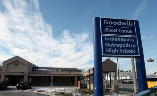 In Indiana, the charity Goodwill has set up centers for high school dropouts to earn their degree.