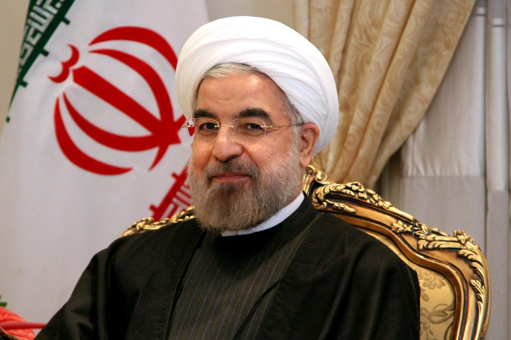 Iranian President Hassan Rouhani in Tehran on Dec. 1, 2013. Photo by Fatemeh Bahrami/Anadolu Agency/Getty Images